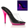 POISE - 501UV Clear/Neon Hot Pink